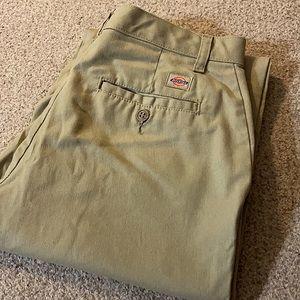 Dickies Boot Cut Classic Khaki Pants